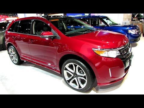 2014 Ford Ford Edge Sport AWD - Exterior and Interior Walkaround  - 2014 Chicago Auto Show