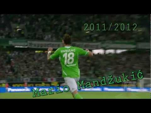 Mario Mandzukic Season 2011/2012 HD (Alle Tore und Vorlagen in Hinrunde)