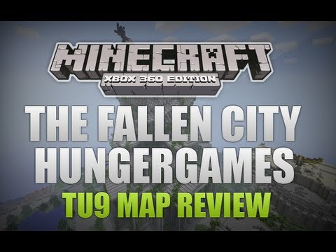 Minecraft Xbox 360 - TU9 Map Review The Fallen City HungerGames