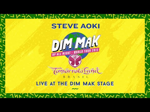 Steve Aoki – Live at the Dim Mak Stage – Tomorrowland Brasil 2015 (Audio)