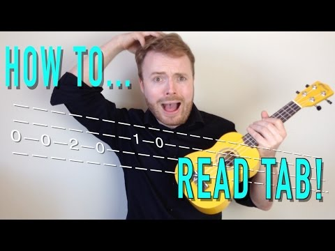 Learn how to read TAB for Ukulele AND Guitar - IN TWO MINUTES!