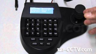 PTZ Camera Controller Setup - 123CCTV Video Reviews