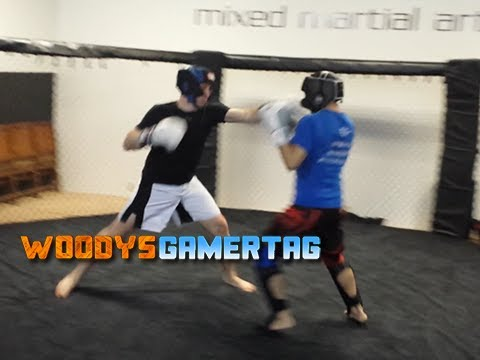 Woody vs Andy Sparring MMA (@ragingkorean) Image 1