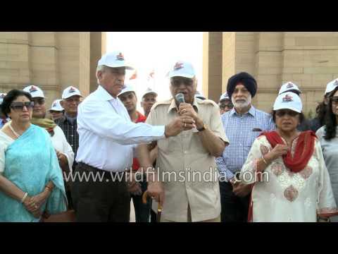 Inder Sharma of Select Group speaks on Kargil Vijay Diwas celebration at India Gate