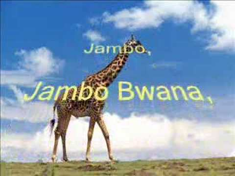 Jambo Bwana video