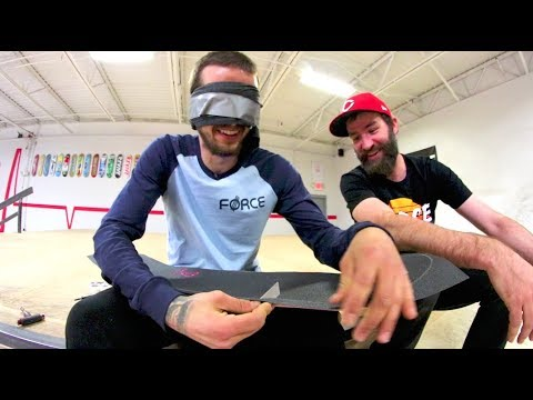How To Assemble Your Skateboard BLINDFOLDED