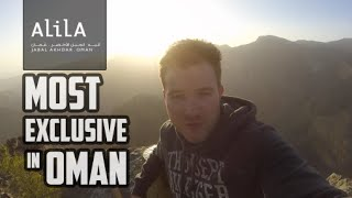 LUXURY RESORT AT 2,000M! - Alila Jabal Akhdar Oman tour