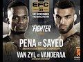PENA vs SAYED 2 FULL FIGHT EFC 66