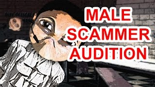 The Male Scammer Voice Audition Offer Of A Lifetime! - The Hoax Hotel