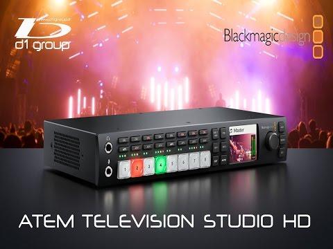 Blackmagic Design ATEM Television Studio HD thumbnail