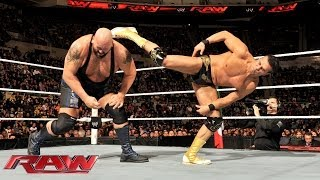 John Cena & Big Show vs. Randy Orton & Alberto Del Rio: Raw, Nov. 25, 2013