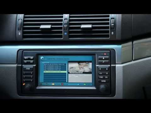 Custom BMW Digital TV Tuner - USB interface: record and playback