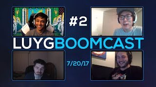 LUYG BOOMcast #2 - ft MYK, Sajam, Rynge - Post Evo 2017 Discussion