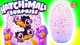 Twin Time ! Baby Animal Hatchimals Surprise Hatching Egg with Barbie - Toy Video