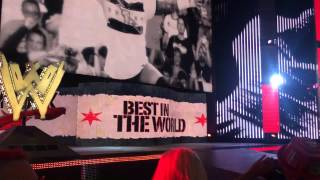 WWE RAW Live in CHICAGO 03/03/14 CM PUNK ENTRANCE (Heyman comes out)