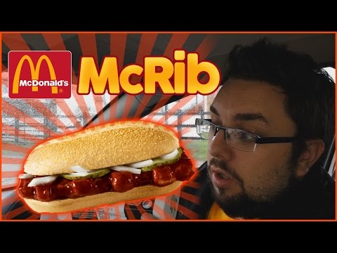 McDonald's McRib Review | Food Review UK