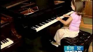 The Next Mozart?  6-Year Old Piano Prodigy Wows All
