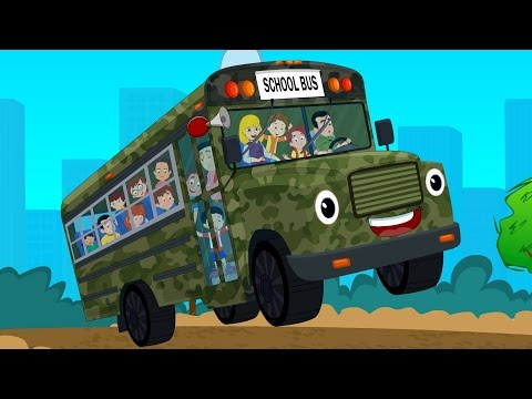 Wheels On The Bus | Nursery Rhymes From Kids Channel