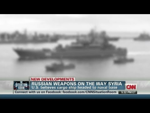 Russia sends ship with weapons to Syria