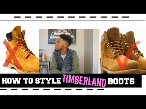 How to Style Timberland Boots   On Foot   Review