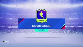 FUTURE STARS CHALLENGE SBC!! NEW PLAYER PICK PACK! | FIFA 19