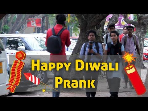 Happy Diwali Prank in Mangalore || Funny REACTIONS