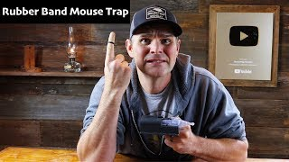 Why Do People Want To Ban This Mousetrap? The AMDRO Rubber Band Mouse Trap: Mousetrap Monday