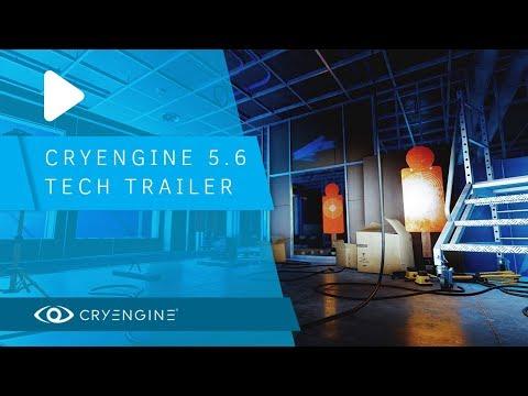 CRYENGINE 5.6 Tech Trailer