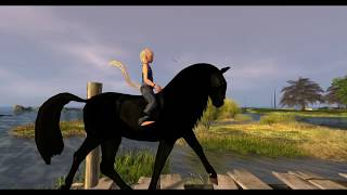 Day at Calas Galadhon with the bento Horse Avatar