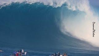 Jaws Peahi Maui Paddle Session SONY 4K