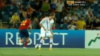 Isco  Amazing skills vs Russia  U21( Flip-flap,  dribble  and  nuts)
