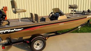 2006 Fisher Tracker 1600 bas Boat For sale 40hp Fourstroke