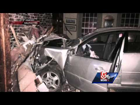 Car crashes into Halifax home