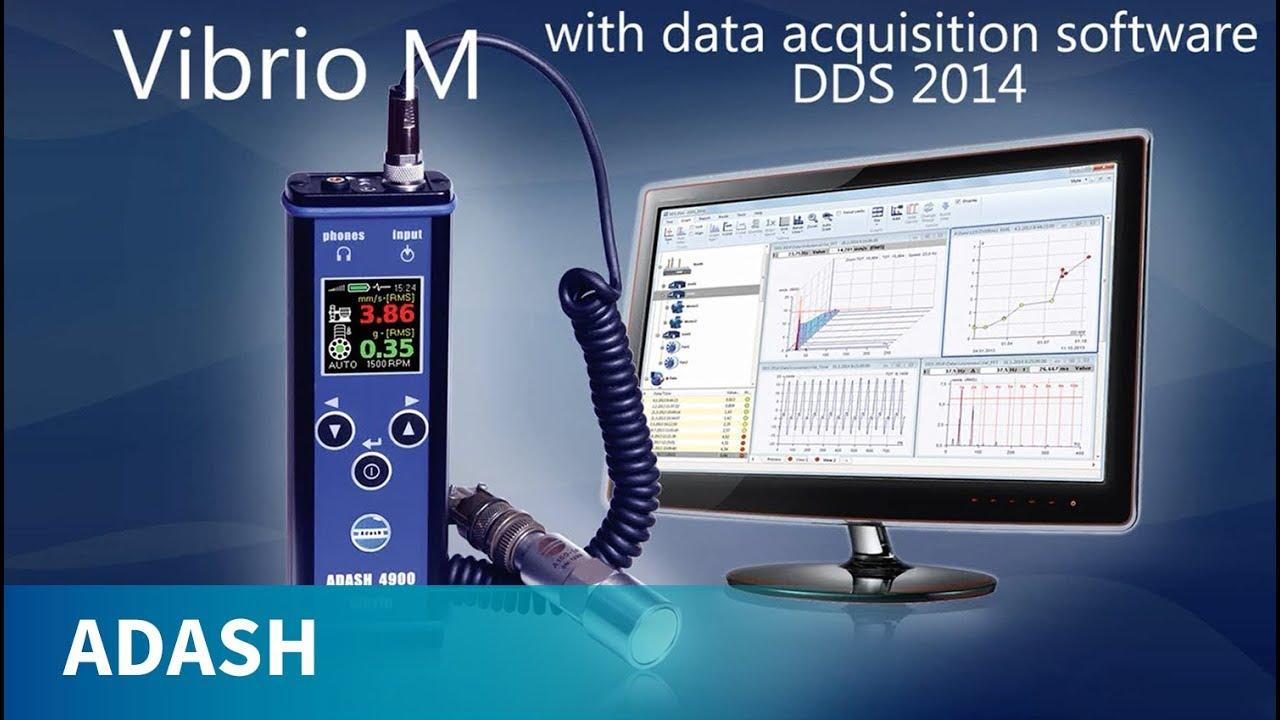 Masimo Pulse Oximeter >> ADASH A4900 Vibrio M - Vibration Meter, Data Collector, Vibration Analyzer - YouTube