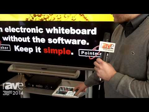 ISE 2014: Pointmaker Introduces Annotation Hardware Solutuion Used to Draw on Video