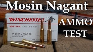 7.62 x 54R (Mosin Nagant) Winchester 180 gr Soft Point Ammo Review