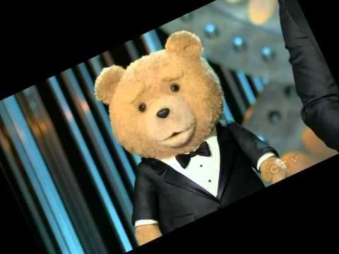 Ted and Mark Wahlberg presenting nominations Oscars 2013 Full Show HD 1080p