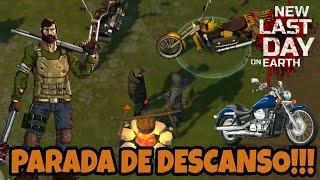 PARADA DE DESCANSO! A PROCURA DE ARMAS DE FOGO! LAST DAY ON EARTH