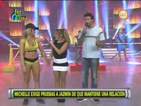 Esto es Guerra: Jazmín Pinedo insinúa que Michelle tiene una relación - 10/07/2013