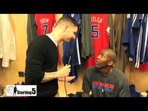 Starting5online.com Speak With Clippers Jamal Crawford