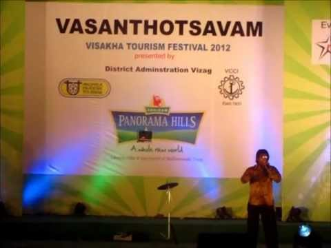 Yo! Vizag - Mimicry performance by DTS Anand at Visakha Tourism Festival.wmv