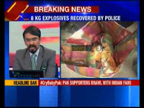 8 kg explosives recovered from Congress leader's house in West Bengal
