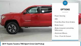 2019 Toyota Tacoma 2019 Toyota Tacoma TRD Sport Crew Cab Pickup FOR SALE in Nampa, ID 4372300