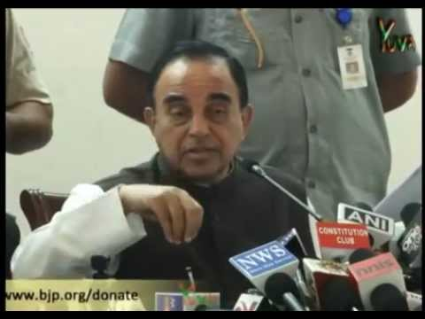 Dr. Subramanian Swamy exposes corruption by Rahul, Sonia and Priyanka Gandhi - Nov 1, 2012 (Full)