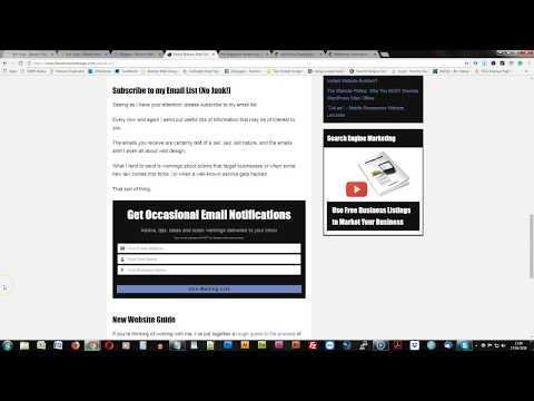 Use an Email Subscription List to Build Your Business