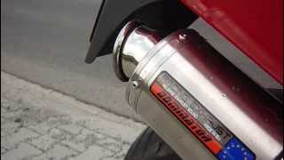 Honda VFR 800 FI wydech DOMINATOR MOTO GP exhaust sound db killer in