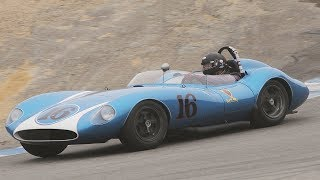1955-1961 Sports Racing Over 2000CC Cars - 2017 Rolex Monterey Motorsport Reunion