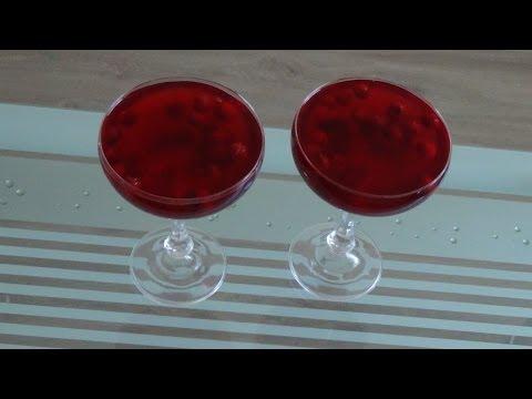 Варим кисель из замороженных ягод