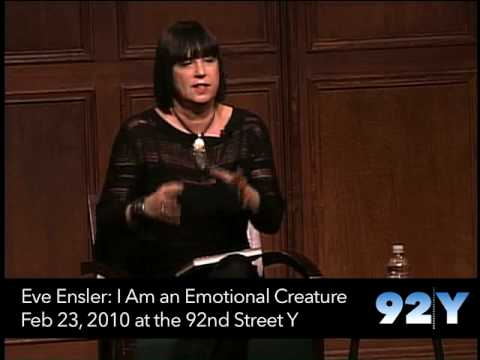 0 Eve Ensler: I Am an Emotional Creature at the 92nd Street Y