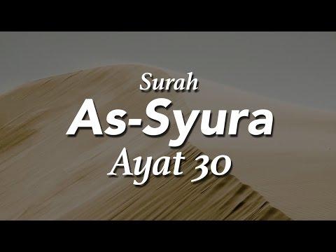 Faedah dari Surah Asy Syura Ayat 30 - Ustadz Khairullah Anwar Luthfi, Lc